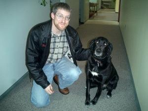 John and dog